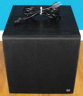 Destination Audio Powered Subwoofer Model SF 10 100W NR