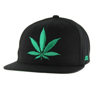 DGK STAY SMOKIN SNAP BACK ADJUSTABLE HAT BLACK Beanies Skateboards