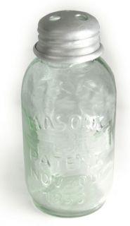 Style Mason Glass Fruit Jar Toothpick Holder/Dispenser Primitive NEW