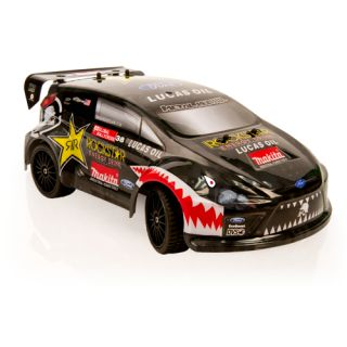 Atomik Metal Mulisha Brian Deegan 1 18 Scale Ford Fiesta RC Rally Car