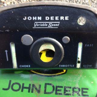 JOHN DEERE 110 ORIGINAL DASH ROUND FENDER. NICE