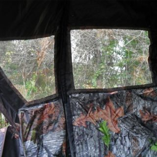 Deer One Man Jake Turkey Chair Blind Camo Hunting Hunt Tent