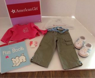 American Girl Doll Coconut Play Outfit New in Box Retired in 2006