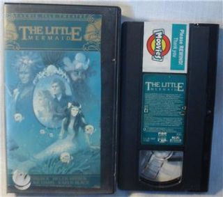 The Little Mermaid VHS Faerie Tale Theatre Helen Mirren
