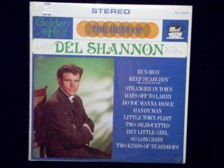 The Best of Del Shannon Runaway Vinyl Record Album 33 RPM DLP 25824
