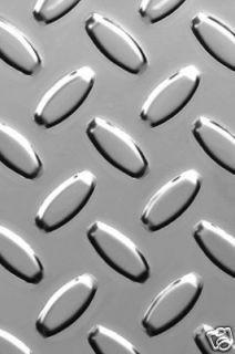 Brite Aluminum Diamond Plate Sheet 48 x 48 x 025 RTP