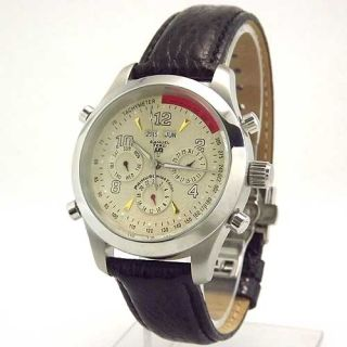 Automatic Mechanical St St Day Date Month Year Calendar Watch