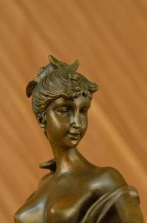 Original Signed Diana Nemorensis Hunter with Wild Boar Bronze