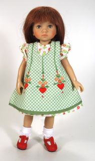 Valentine   Dianna Effner sculpt. Vinyl doll with hand painted eyes