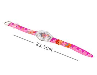Lovely Cartoon Dora Digital Wrist Watch for Kids Girls Gift Pink