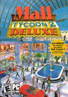 Mall Tycoon 2 Deluxe II Simulation PC Game New in Box 710425215957