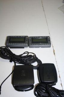 of 2 Delphi ROADY2 Model SA10085 XM Satellite Radio Receivers