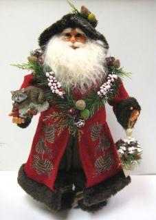 Woodland Santa Karen Didion Christmas 1662