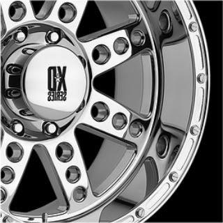 Diesel XD766 Chrome 20 x 10 8x170 Ford Super Duty F250 350 Wheels
