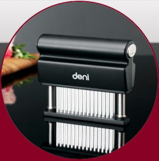 Deni 45 Blade Meat Tenderizer Razor Sharp Stainless Steel Blades Brand