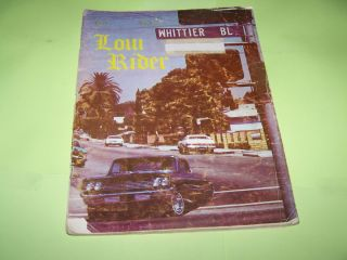 Lowrider Magazine Vol 1 Issue 5 RARE No Reserve