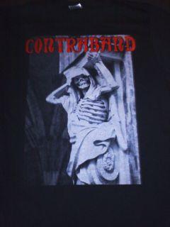 Contraband Death Metal Rap Skeleton T Shirt S M L XL XXXL and Girl
