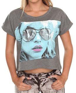 Blondie Debbie Harry Vintage Rock Crop Top Tee T Shirt M L XL NWT