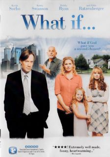 New SEALED Christian Widescreen DVD What If Kevin Sorbo Kristy Swanson