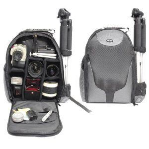 Bower SCB1350 Pro Digital SLR Bag Camera Backpack for Canon EOS 1000D