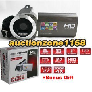 TFT LCD 8MP CMOS Digital Video Camcorder Camera DV 4X DIGITAL