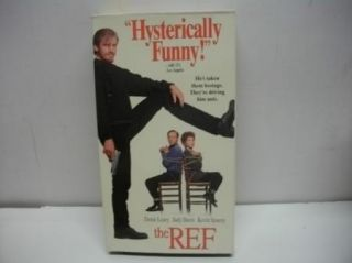 VHS Comedy Movie The Ref Denis Leary Kevin Spacey Funny