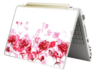 Monster Mini Netbook Laptop Notebook Skin Decal Pink Rose