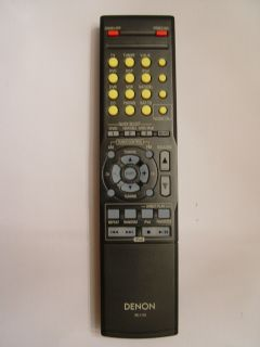 Denon RC 1119 Remote Control Part 963307004540D