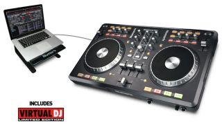 Mixtrack Pro MIDI Controller with Soundcard Serato Intro New