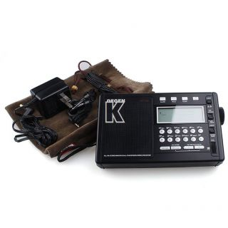 FM MW SW PLL Dual Conversion Stereo Radio Digital World Receiver