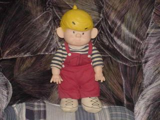 13 Dennis The Menace Cloth Doll by Ketcham 1982