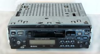 Denon DCR 470RD RDS Car Stereo Cassette Receiver with Removeable