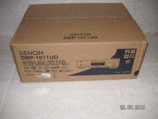 Brand New Denon DBP 1611UD 3 D Blu Ray SACD DVD Disc Player