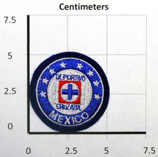 Cruz Azul Club Deportivo Mexico Futbol Small Patch New