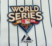 Derek Jeter New York Yankees 2009 World Series Home Jersey Sz (M 2XL)