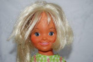 Vintage Ideal Doll Dina Crissy Family Hair Grows Suntan Tan Movin