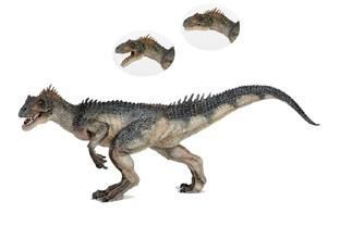 Papo Allosaurus dinosaur Toy Figurine Prehistoric Pretend Play figure