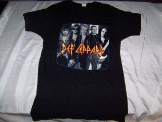 Def Leppard 1992 Adrenalize Tour Vintage Original Concert Black T