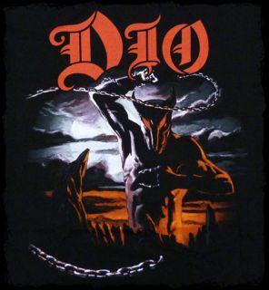 dio holy diver t shirt screen printed t shirt official merchandise 100