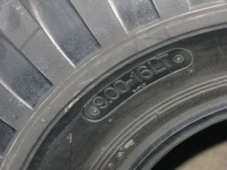 00 16 Sta Non Directional Military Tires Tube Type D 8PLY