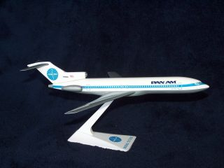 Pan Am Airlines Boeing 727 200 Desk Model