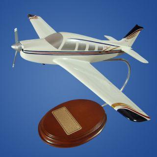 Beechcraft Bonanza A 36 Wood Desktop Model Airplane