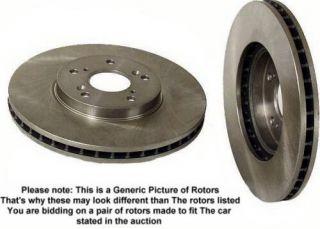 1997 2004 mitsubishi montero sport disc brake rotors rr item
