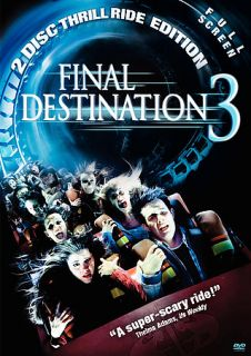 Final Destination 3 DVD 2006 2 Disc Set Full Frame Special Edition DVD
