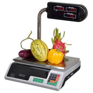 Deli Meat Food Computing Retail Price Digital Scale 60 LB Produce