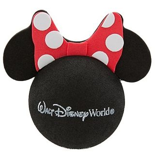 NEW Disney World Minnie Mouse Car Antenna Topper Ball Red Polka Dot