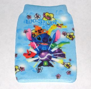 Disney Stitch Mobile Cell Phone Sock Case Pouch Bag New Smartphone