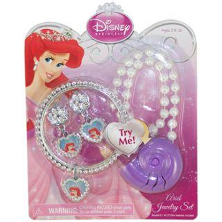Disney Princess Jewelry Set Ariel with Talking Pendant