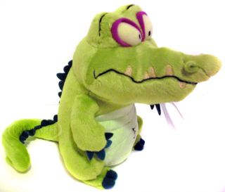 Disney Mobile Wheres My Water Cranky Stuffed Plush Doll Alligator
