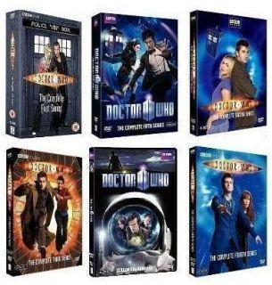 Doctor Who Complete DVD Series Seasons 1 6 1 2 3 4 5 6